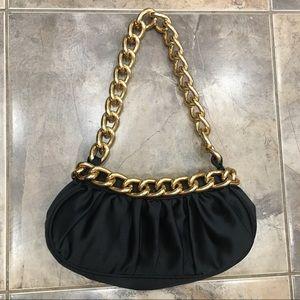 Gold Chain Mini Bag Black Chinese Laundry OS